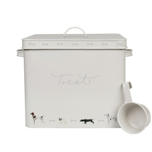 SPTWO01 Woof Dog Treat Tin Front Cut Out High Res